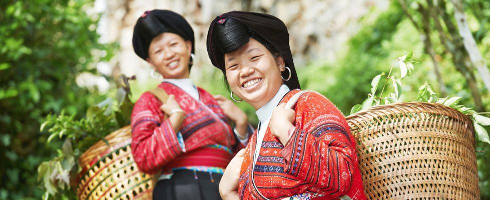 Yao Villages in Longji Rice