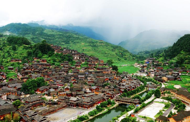Xijiang Thousand Miao Houses in Guizhou
