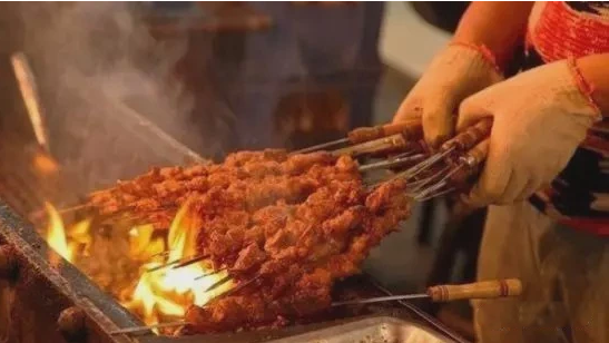 Lamb Skewers xian food